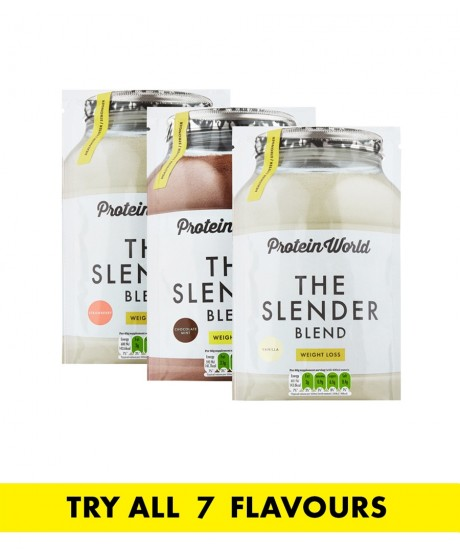 The Slender Blend Sachet Trial Pack