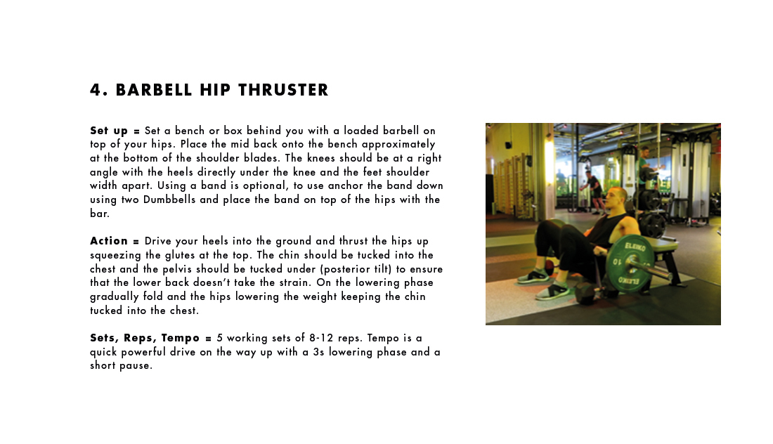 Exercise 4 - Barbell Hip Thruster