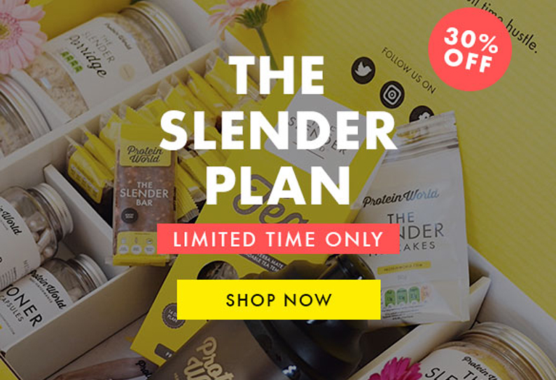 Shop the Slender Plan with 30% off!