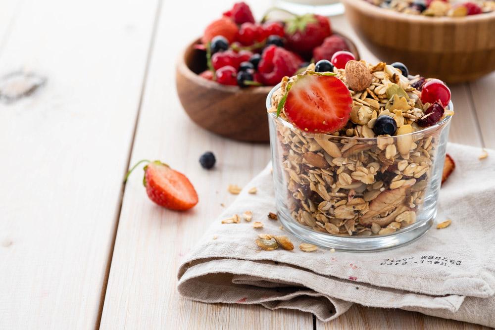 Summer Berries Porridge Recipes
