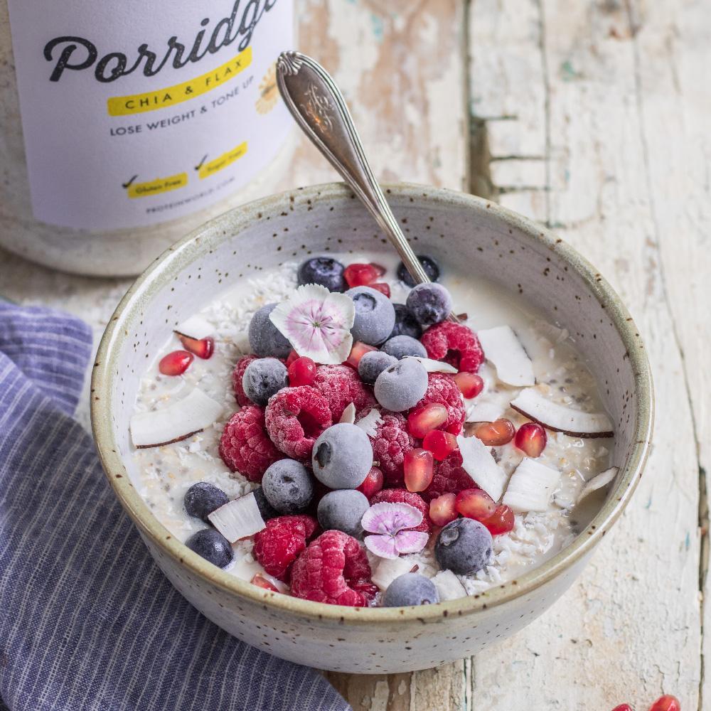 Vanilla Protein Porridge